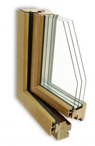 Bronze clad windows