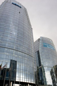 "Business center 3 sails, ""Reynaers"" aluminium systems CW 50; CW 50 SL; CS 68"