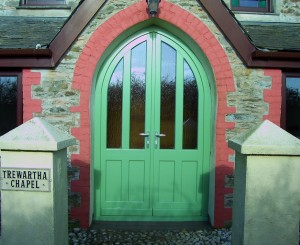 Chapel timber Entrance doors