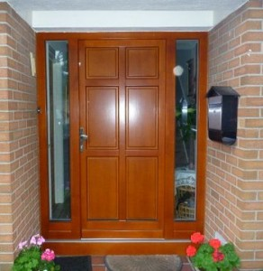 Euro78 Classic timber door