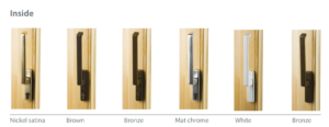 Lift and slide terrace door handles_inside