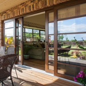 PVC lift and slide doors