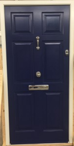 Traditional Cadsement timber Entrance doors with Knocker, knob and letter box