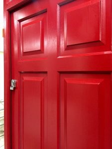 Traditional timber Casement door with Winkhaus Heritage lock